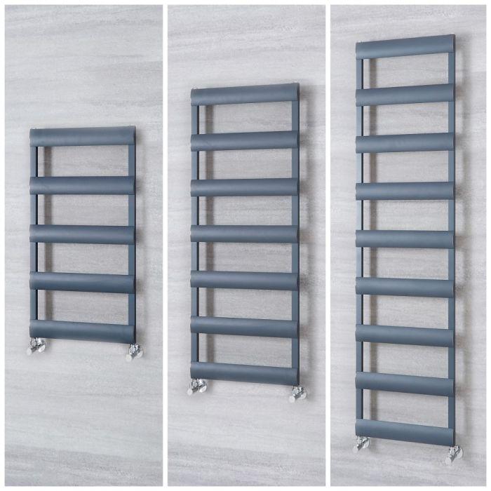 Aluminium Design Handtuchheizkörper Anthrazit Größe Wählbar - Gradus
