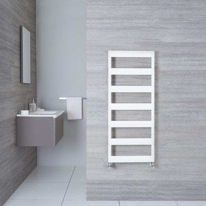 Aluminium Design Badheizkörper Weiß 1190mm x 500mm 531W – Gradus