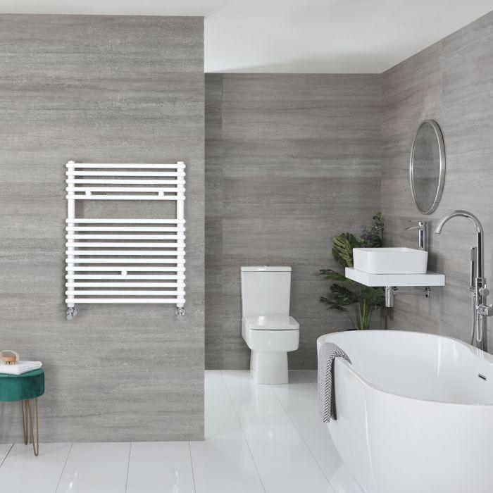 Handtuchheizkörper Weiß 730mm x 600mm 583W – Arno