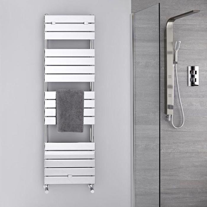 Design Badheizkörper Chrom Flach 1512mm x 450mm 535W – Lustro