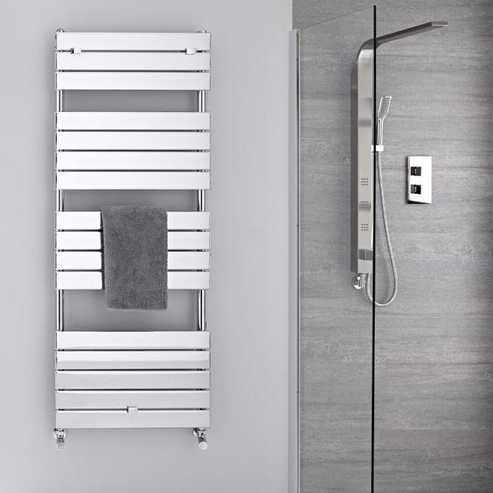 Design Badheizkörper Chrom Flach 1512mm x 600mm 666W – Lustro
