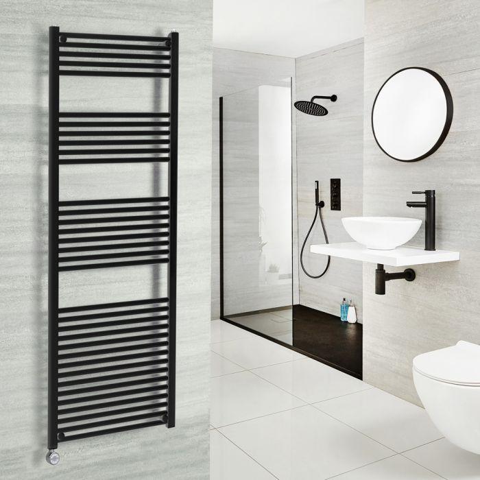 Badheizkörper, elektrisch, Mattschwarz, 1500mm x 500mm - Nox