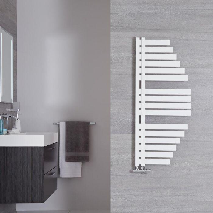 Handtuchheizkörper Mineral Weiß 507W 1100mm x 483mm - Lazio