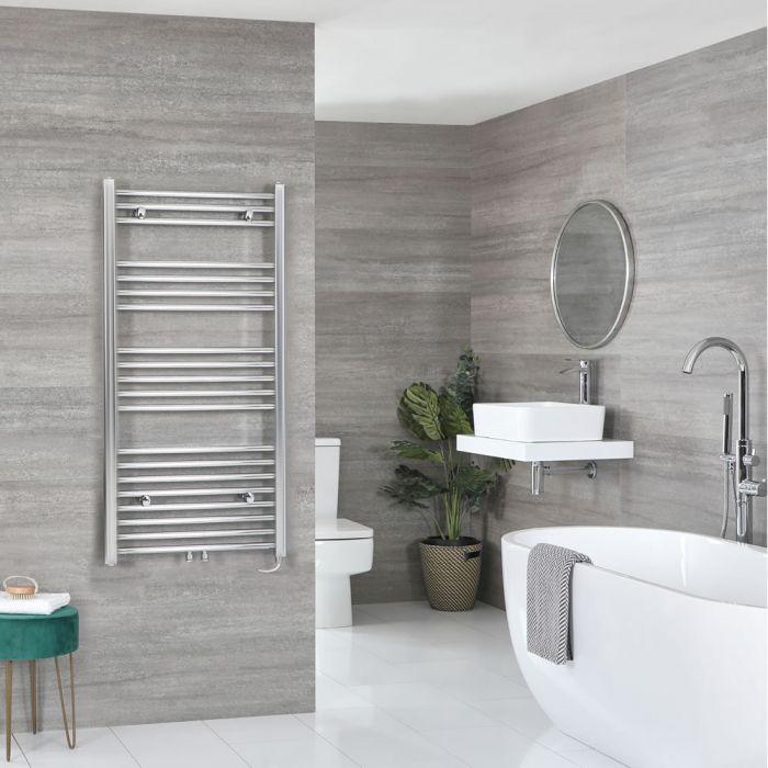 Elektrischer Badheizkörper Chrom Wählbare Größe – Neva