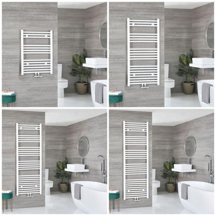 Badheizkörper Mittelanschluss Weiß Wählbare Größe – Neva