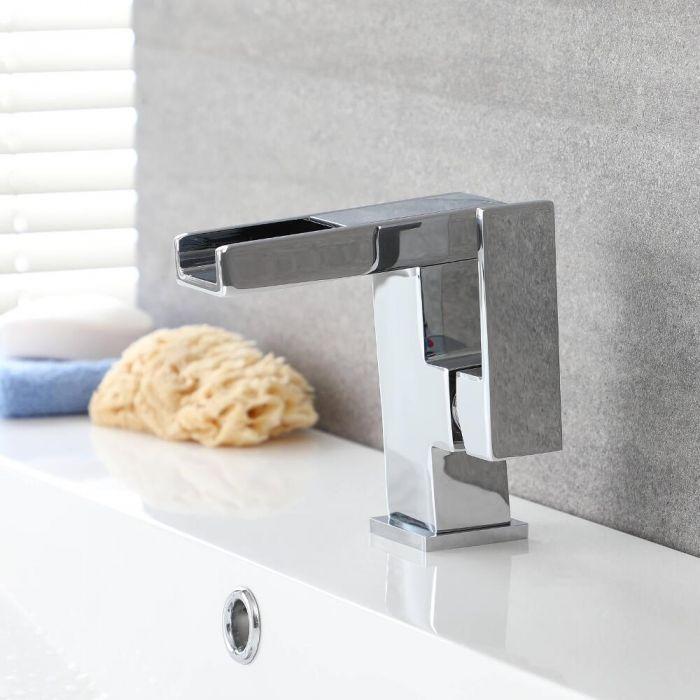 Wasserfall-Einhebelmischer mit LED – Select