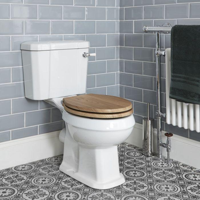 Stand WC und aufgesetzter Spülkasten, Wählbarer Sitz - Richmond