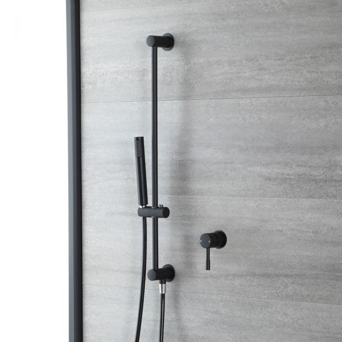 1-Weg Dusche mit Brausestangenset Schwarz - Nox