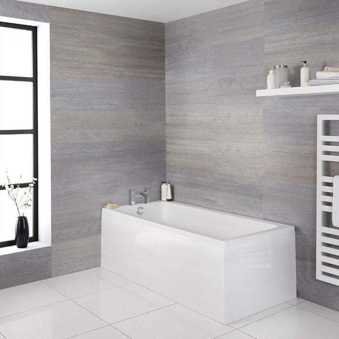 Sandford Standard Einseitige Badewanne - Wählbare Größe