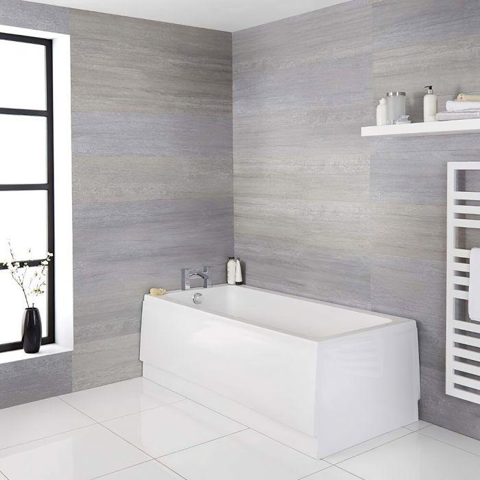 Standard Einseitige Badewanne - Wählbare Größe & Verkleidung