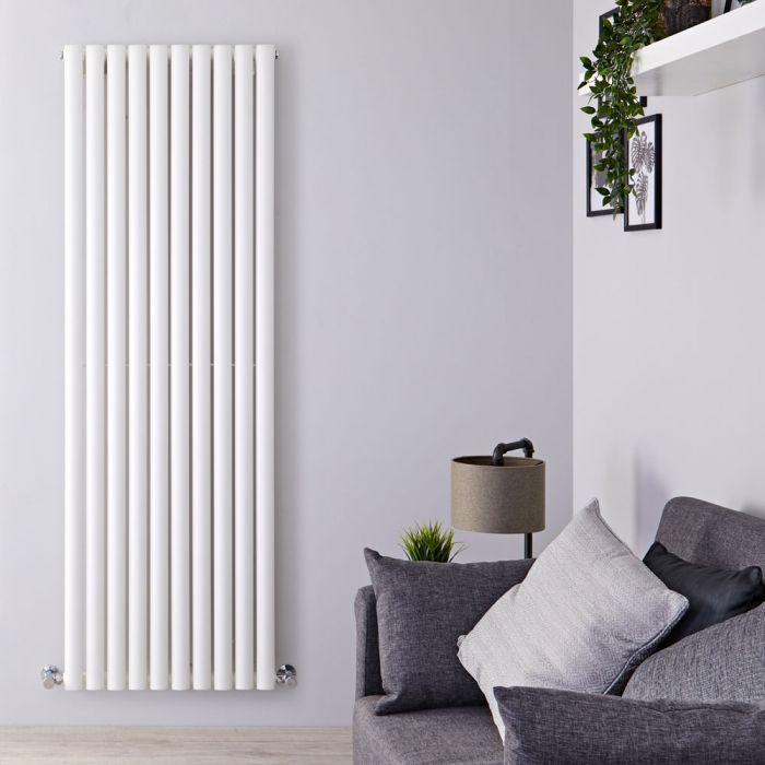 Design Heizkörper Vertikal Weiß 1780mm x 590mm 1487W (einlagig) - Revive