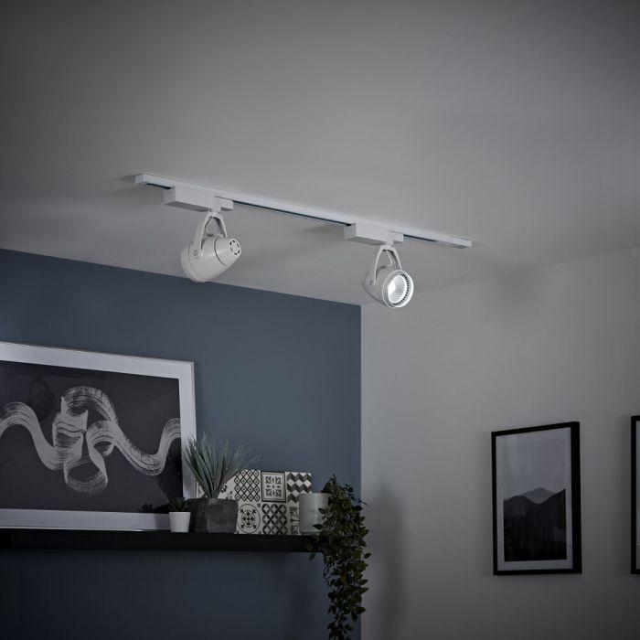 LED Schienenbeleuchtung, 12Watt, Weiß, Größe wählbar - Biard