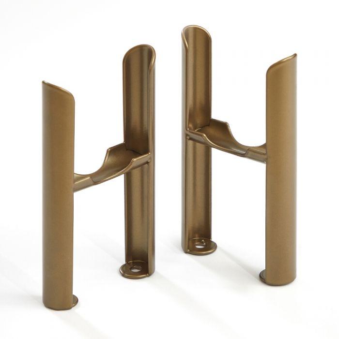 Füße für Regent 3-Säulen Heizkörper - Metallische Bronze