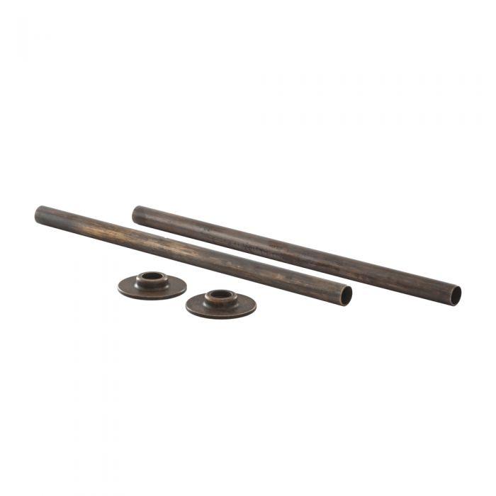 Bronze Set für Heizkörper - Rohrverbindungen, Blindstopfen & Entlüftungsventil