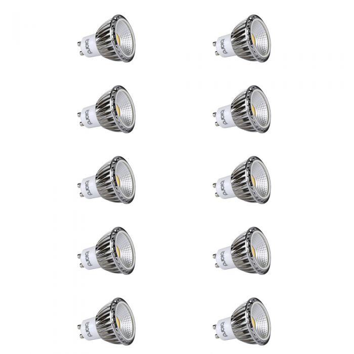 Biard 10x 5W GU10 COB LED Spot