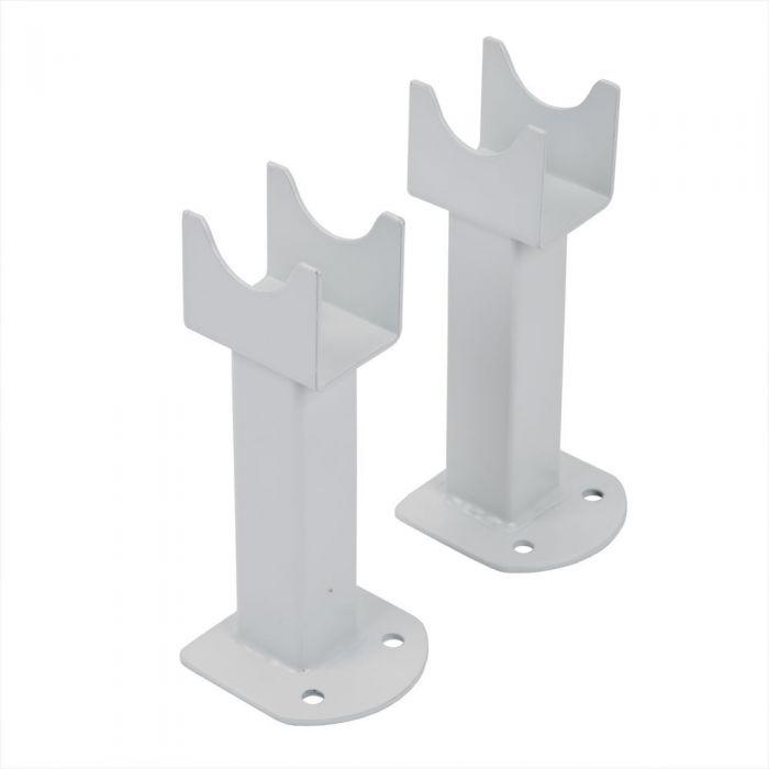 Füße für Design Heizkörper Fin in Weiß