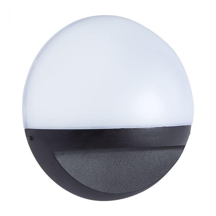 Biard Viana LED 12W IP54 Rundes Wandlicht – Schwarz