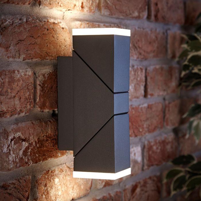 Biard Ziersdorf justierbarer LED Leuchtblock in zwei Richtungen in anthrazit