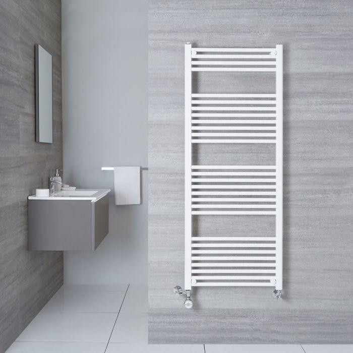 Handtuchheizkörper Mischbetrieb Weiß 1500mm x 600mm 942W - Etna