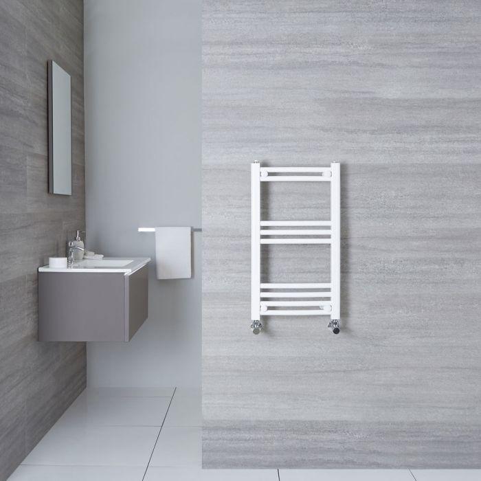 Handtuchheizkörper Gebogen Weiß 700mm x 400mm 276W - Etna