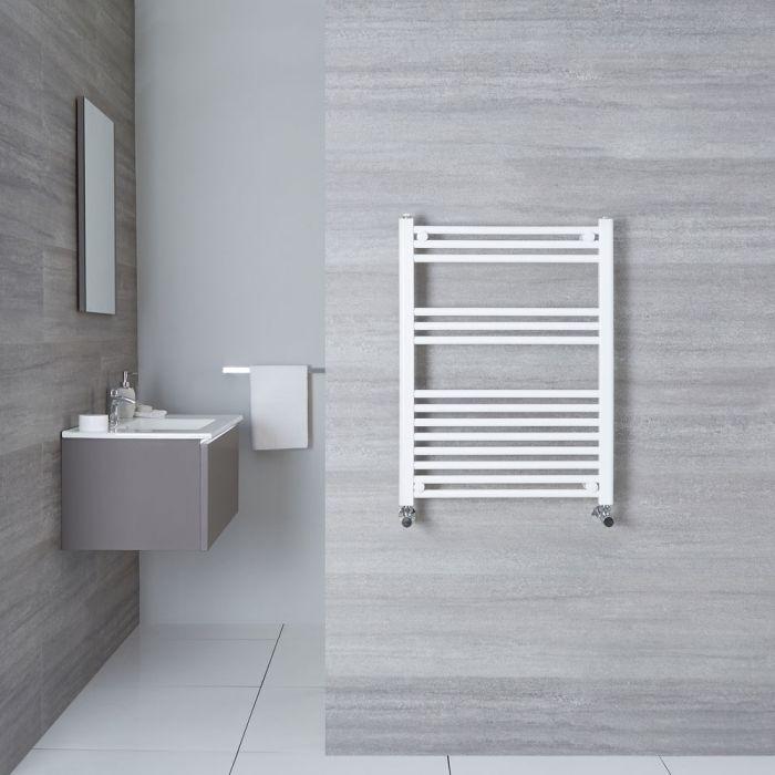 Handtuchheizkörper Weiß 800mm x 600mm 476W - Etna