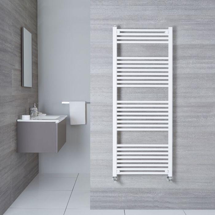 Handtuchheizkörper Weiß 1500mm x 600mm 928W - Etna