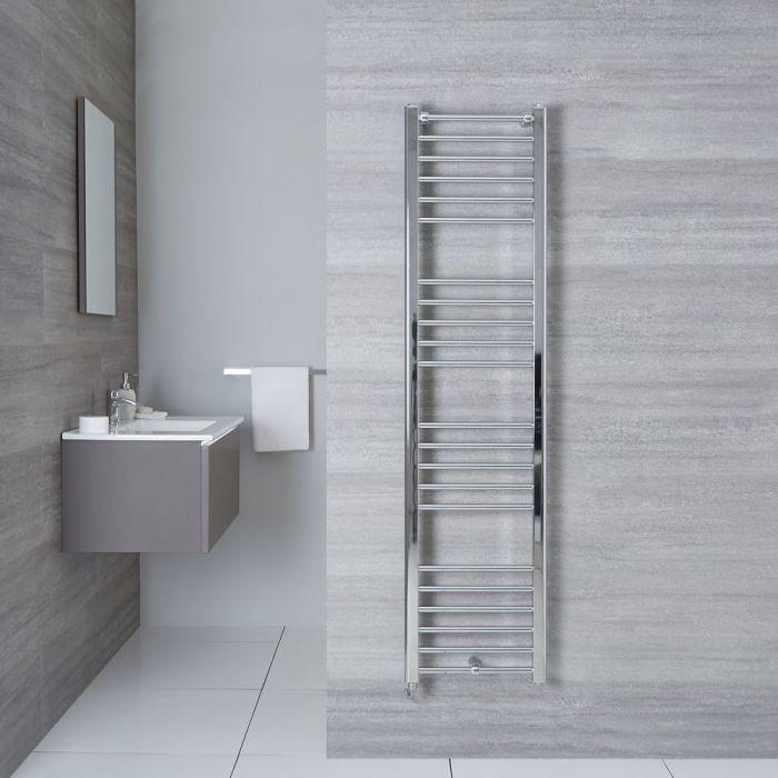 Elektrischer Badheizkörper Gerade Chrom 1600mm x 400mm - Eco inkl. 300W Heizstab