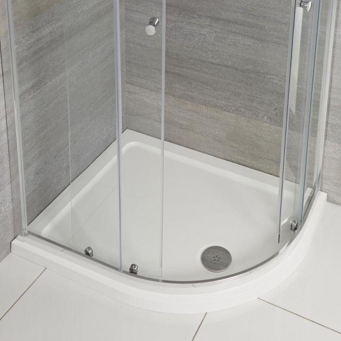 Ebenmäßige Duschtasse Extra Leicht 1000x800 mm Maxon