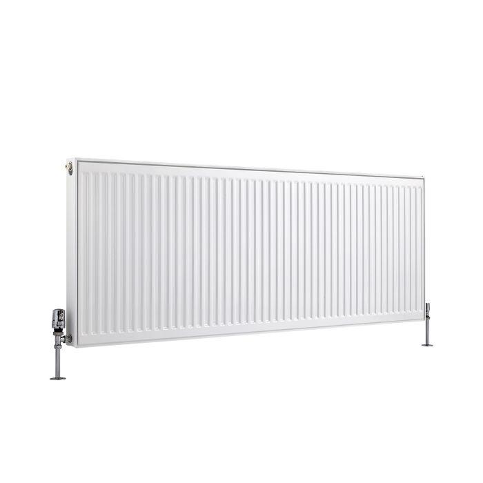 Kompaktheizkörper Horizontal Typ 11 Weiß 600mm x 1600mm 1482W - Eco