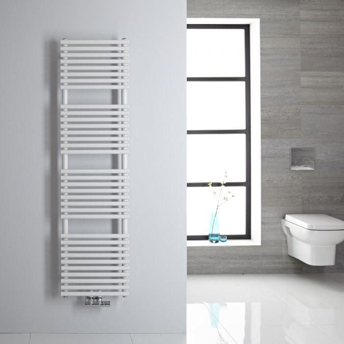 Handtuchheizkörper Mittelanschluss Vertikal Weiß 408 Watt 1500mm x 400mm - Magera