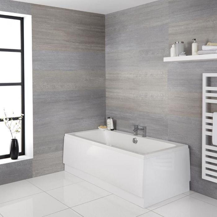 Halwell Standard Doppelseitige Badewanne - Wählbare Größe