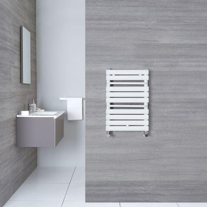 Handtuchheizkörper Gebogen Weiß 650mm x 445mm 456W - Sterling