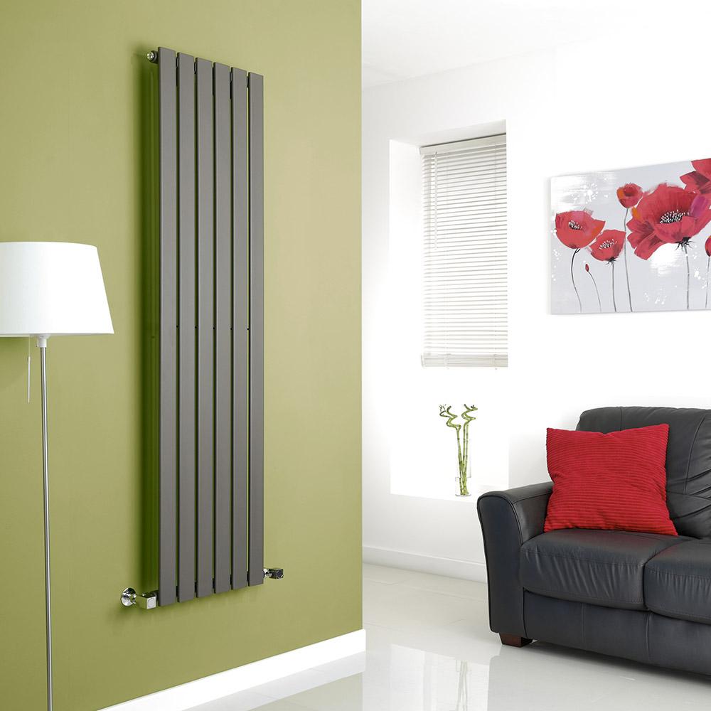 Design Heizkörper Vertikal Delta - Wählbare Optionen