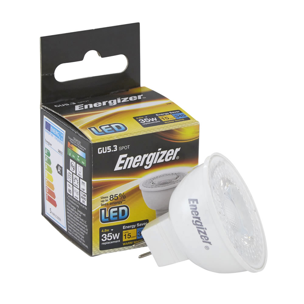 Energizer 4.8W MR16 LED Spot - 6er Packung