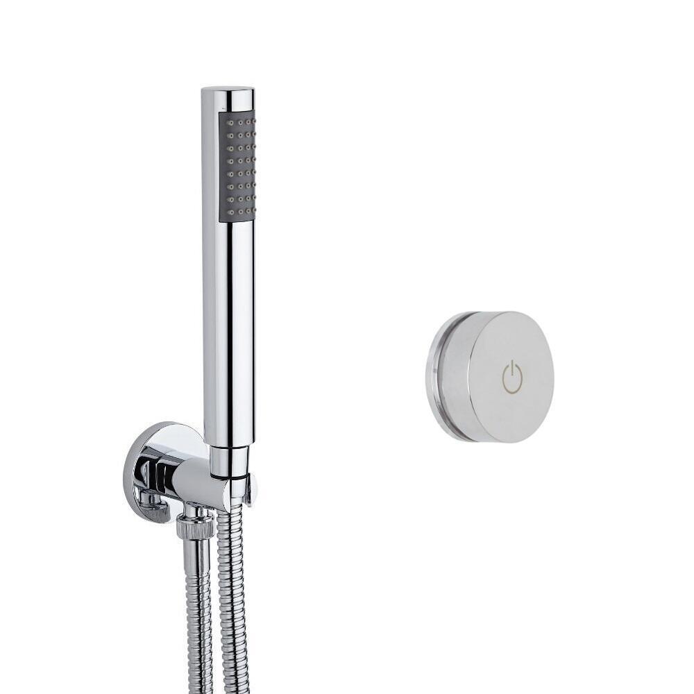Digitale Dusche für eine Funktion, inkl. runder Handbrause - Narus