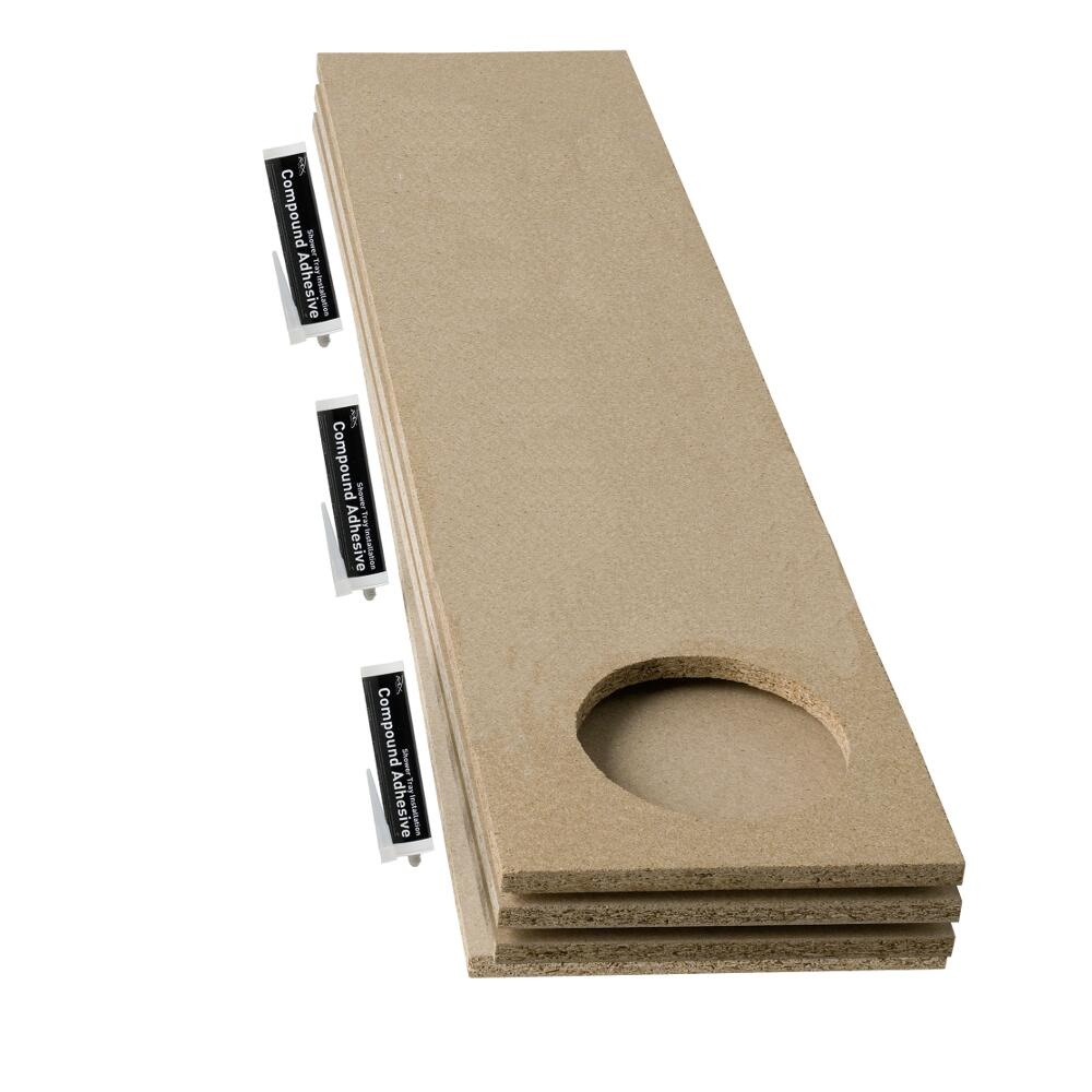 Hudson Reed Duschwannen Baseboard Set für extra Belastungsunterstützung