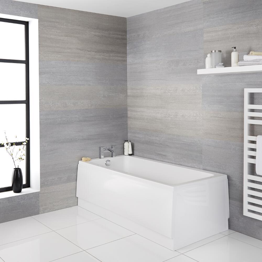 Einbau-Badewanne aus Acryl Ice - Größe wählbar