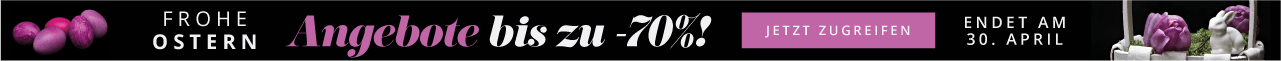 Frohe Ostern Angebote bis zu -70%! Jetzt zugreifen Nur für beschränkte Zeit