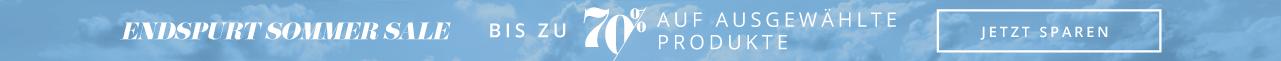 Endspurt Sommer Sale - Bis zu 70% auf ausgewählte Produkte - Jetzt sparen