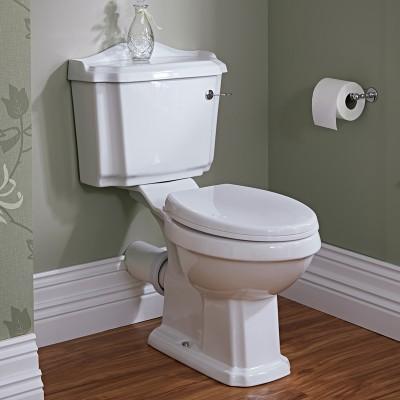 Klassische Toilette