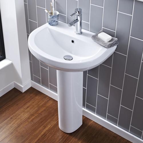Moderne Waschbecken