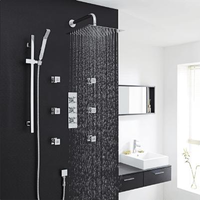 Duschsysteme - 3 Ausläufe